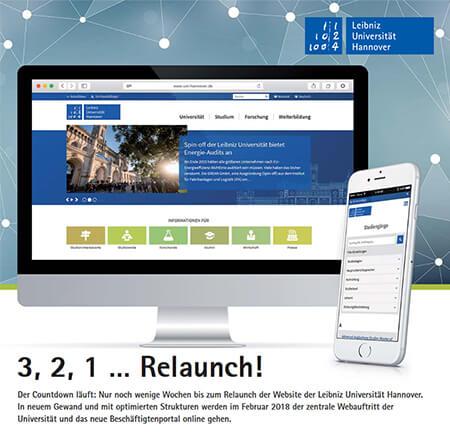 Die fertig umgesetzte Website wurde vor Live-Gang noch einmal evaluiert.