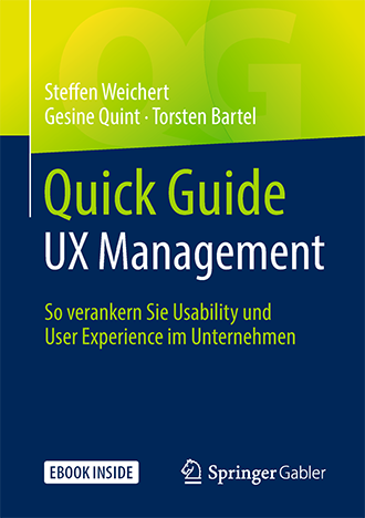 quick Guide UX Management