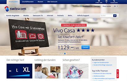 Screen Swisscom