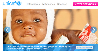 Screen UNICEF