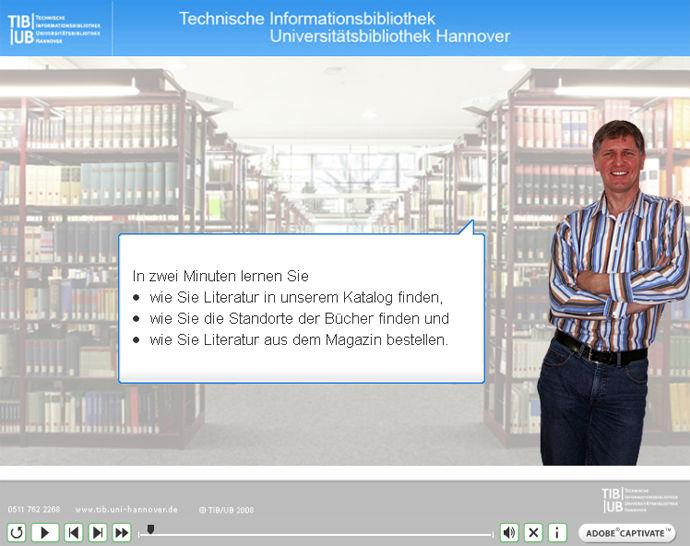 Videotutorials erleichtern den Einstieg in die Recherche