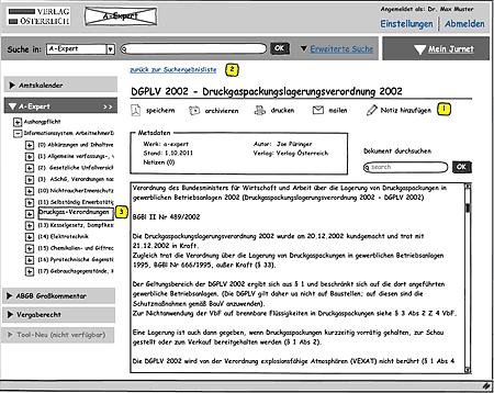 Webportal: Früher Prototyp (Ideengenerierung)