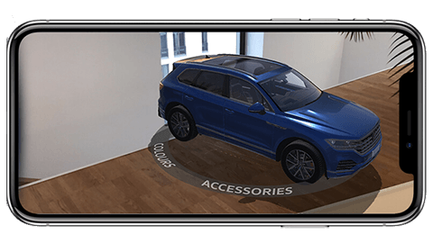 Screen VW AR App