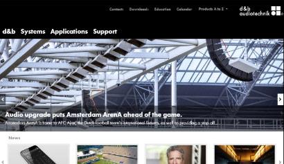 Screen d&b Audiotechnik