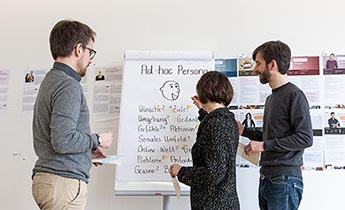 Münster University of Applied Sciences: Inhouse-Training Personas