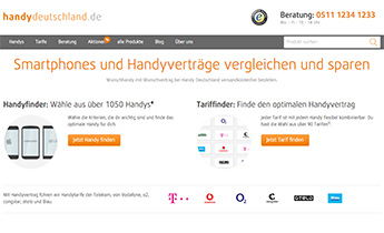 handy-deutschland.de: Relaunch E-Commerce-Website