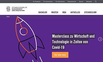 Steinbeis: Website Relaunch