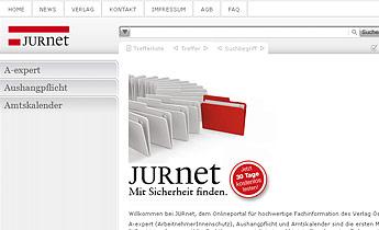 Verlag Österreich: Benutzerzentriertes Design Jurnet