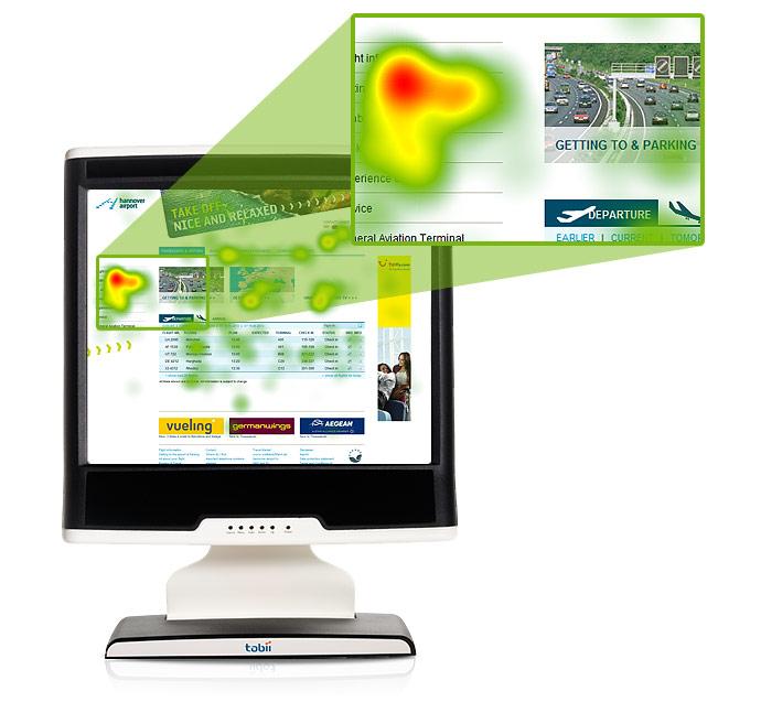 Usability Test mit Eye Tracking