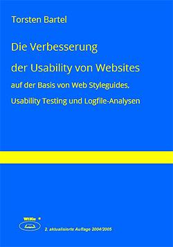 Die Verbesserung der Usability von Websites von Torsten Bartel
