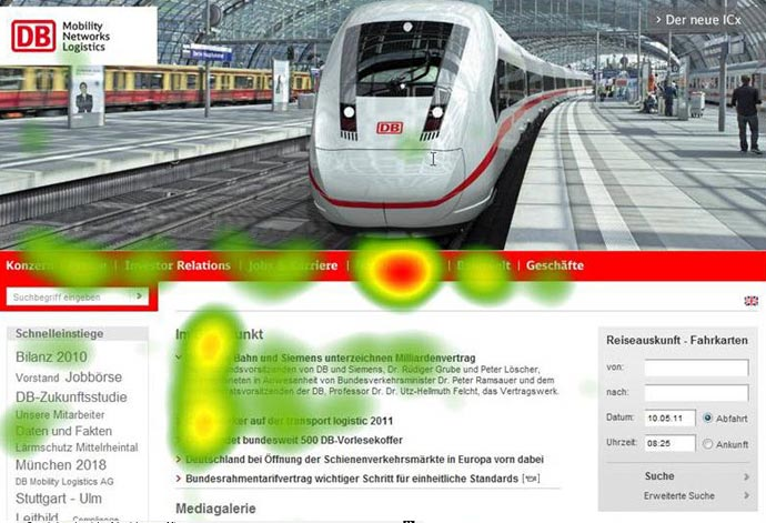 Themenbühne auf deutschebahn.com