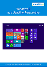 Windows 8 Usability Studie