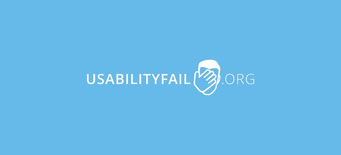 Logo usabilityfail.org